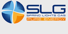 spring lights gas logo